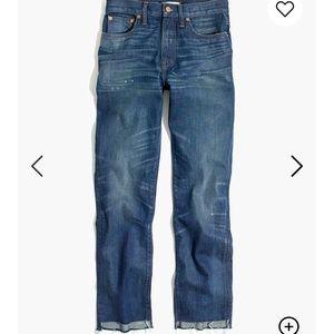 Madewell Perfect Vintage Jean: Step-Hem Edition